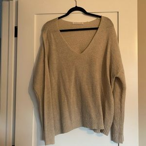Seven sisters oatmeal sweater